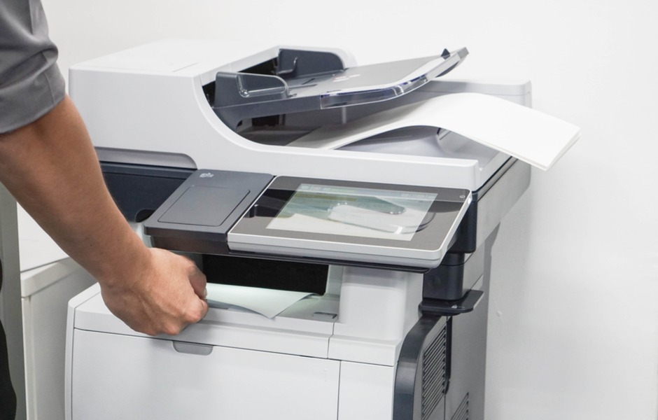 printer in use